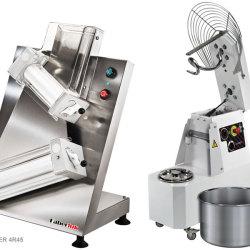 Pizzaroller & Teigknetmaschine
